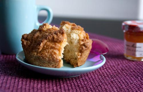 Muffin settimana: cocco, egg-free, dairy-free