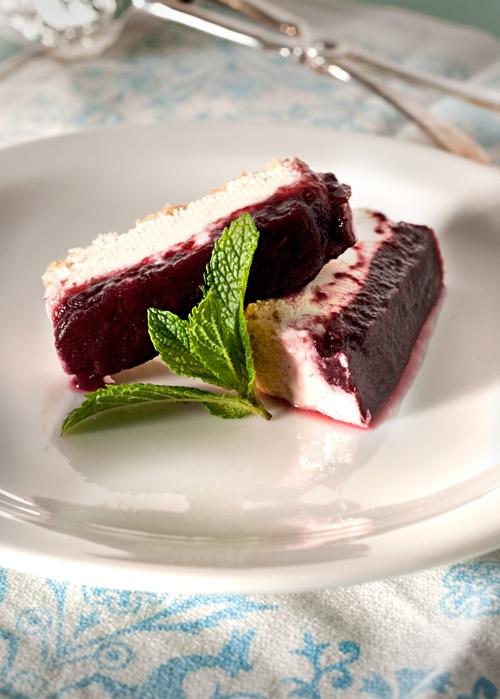 Cheesecake vaniglia e frutti di bosco