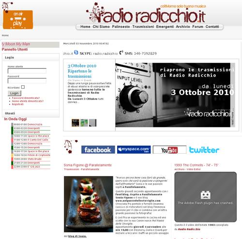 On Air su Radio Radicchio.it