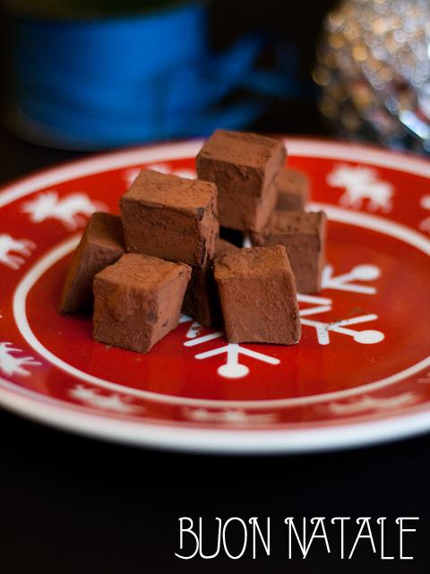 Tartufi al cioccolato e Earl grey