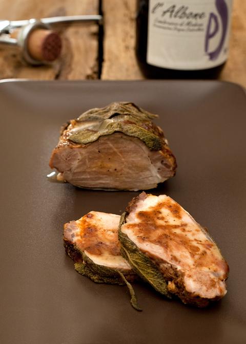 Il Signor filetto di maiale al forno e l'Albone – cena parte seconda