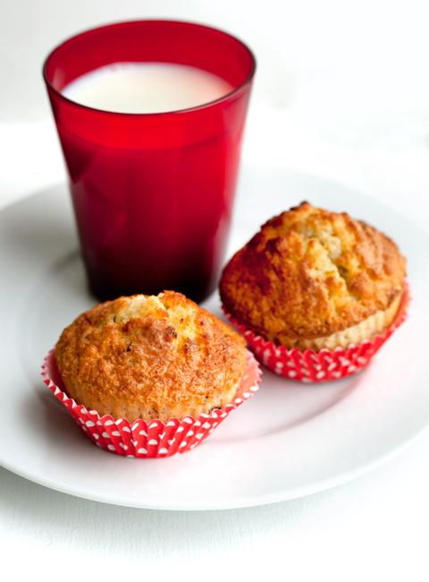 Eurochocolate: muffin semplici con gocce di cioccolato