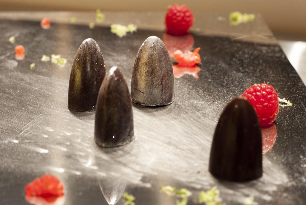 London Gherkin, la pralina di Simone ad Eurochocolate