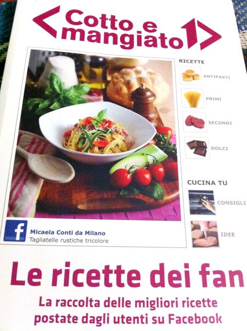 Cotto e Mangiato – Il libro con le ricette dei fan di Facebook