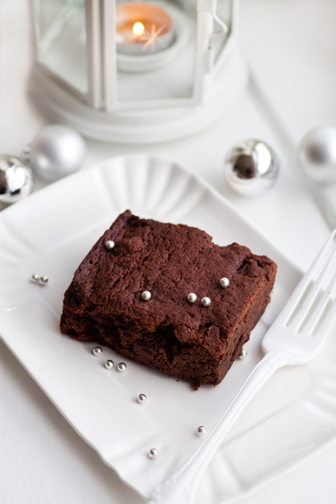 Christmas British Gift: chocolate brownies