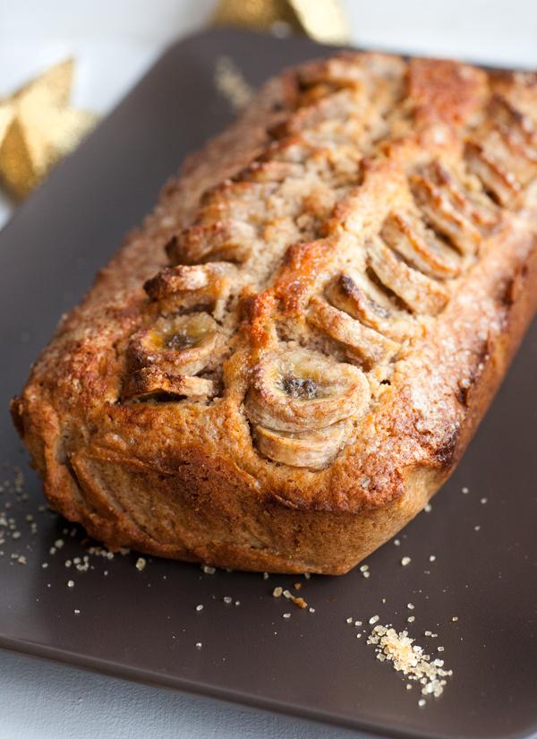 Banana cinnamon bread per colazione
