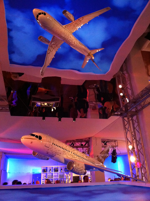 Flight BA2012 Pop Up Experience