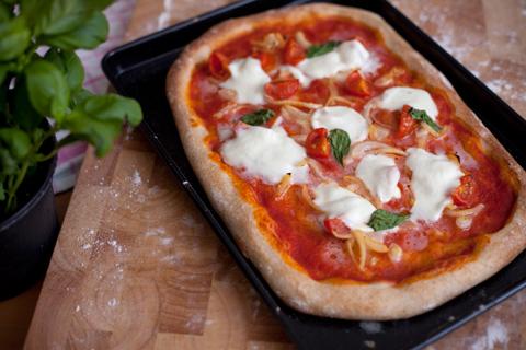 Pizza rustica al farro