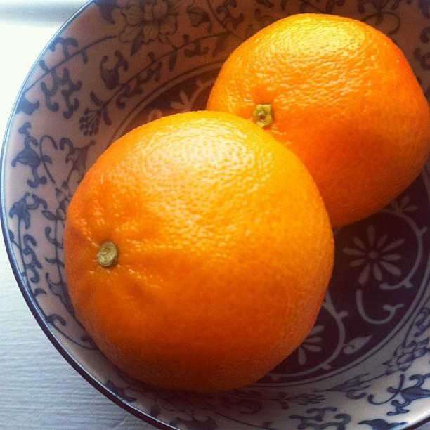 Un menu all'arancia che fa bene e una piccola storia