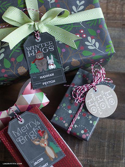 Christmas labels – etichette natalizie