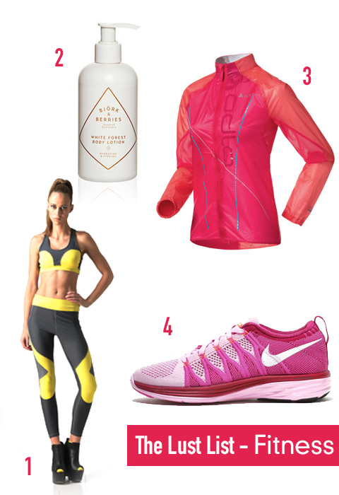 The Lust List │Fitness
