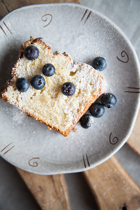 Blueberry and yoghurt loaf – Plumcake con lamponi e yogurt