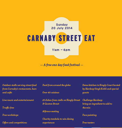 Carnaby Street Eat – Carnaby's first street food festival