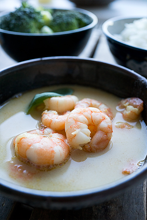 15-minute prawn curry – Il curry con i gamberi