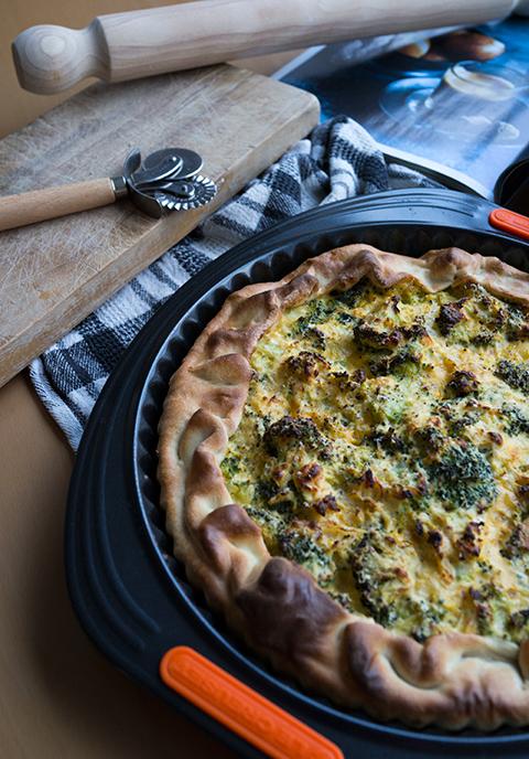 Torta salata con ricotta e broccoli e una rivelazione