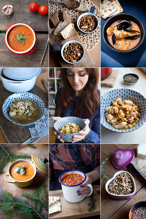 La rassegna di zuppe del Paese