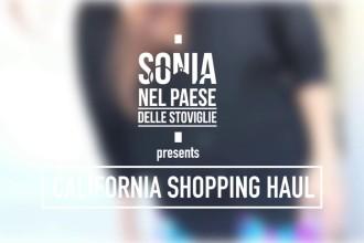 California shopping haul