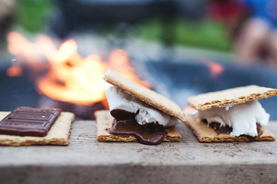 smore-and-fire