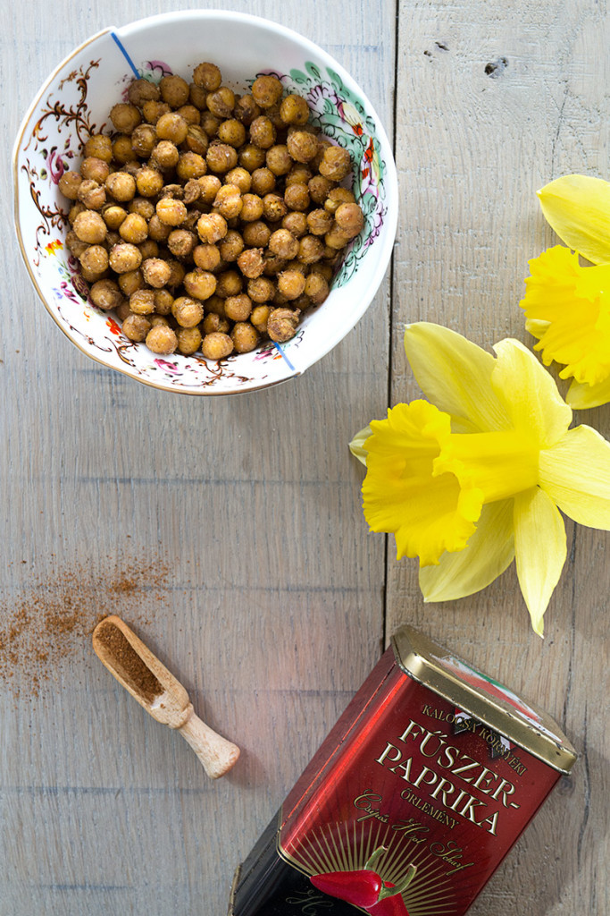 roasted chickpeas image
